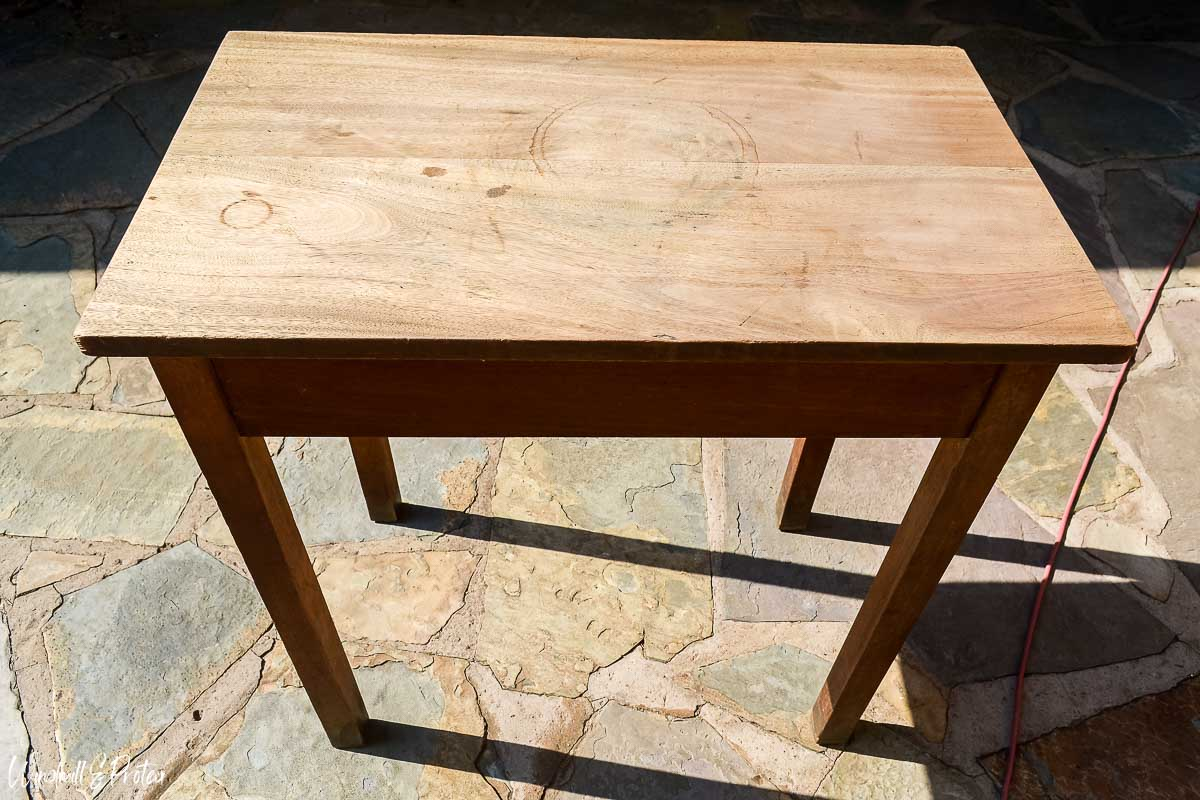 Side Table Before   www.windmillprotea.com