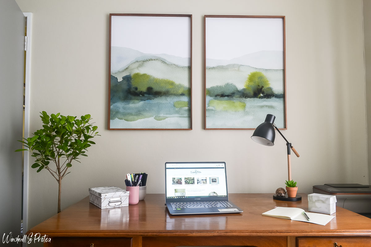 Home Office Large scale wall art   www.windmillprotea.com