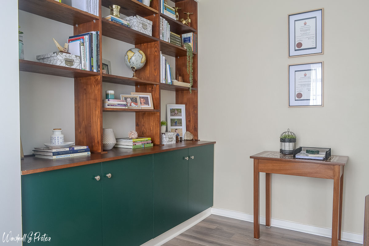 Home Office Makeover | www.windmillprotea.com