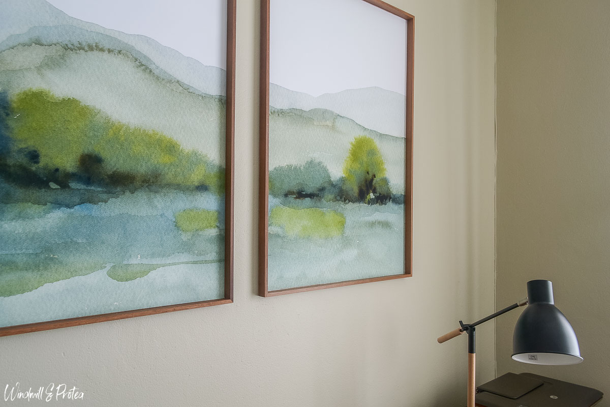 Home Office Design Ideas, large scale wall art   www.windmillprotea.com