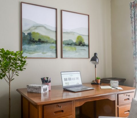 Home Office Reveal - Featured Image | www.windmillprotea.com