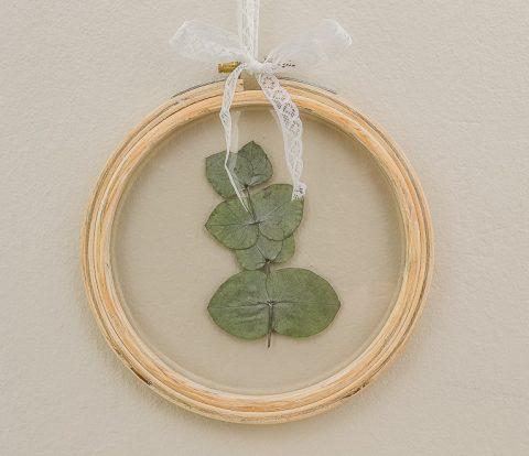 Pressed Eucalyptus Leaf Art | www.windmillprotea.com